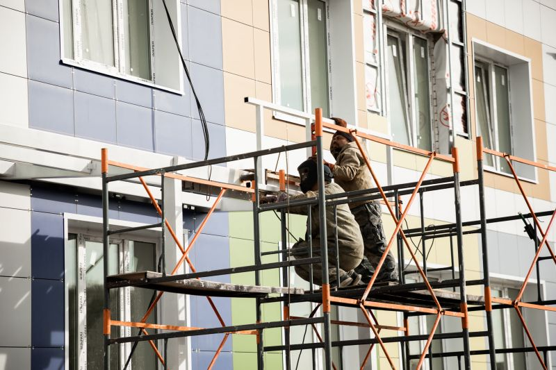 Детский сад в Красненькой снова не сдали в срок
