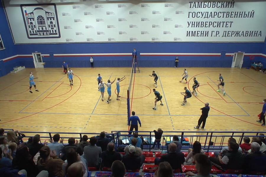 Две тамбовские команды вышли в финалы 1 лиги чемпионата России по волейболу