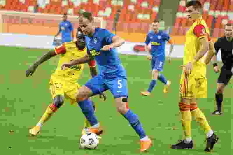 ФК «Тамбов» и «Арсенал» сыграли вничью на матче 10-го тура Тинькофф-РПЛ