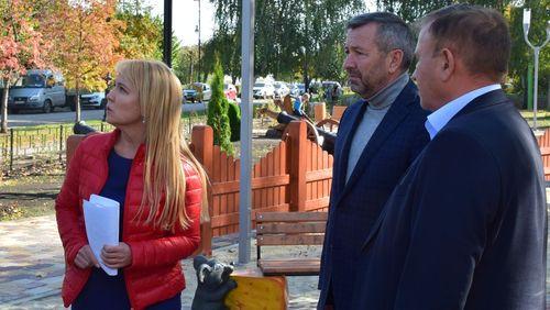 Глава города Тамбова вновь приехала с проверкой в детский городок «Лукоморье»
