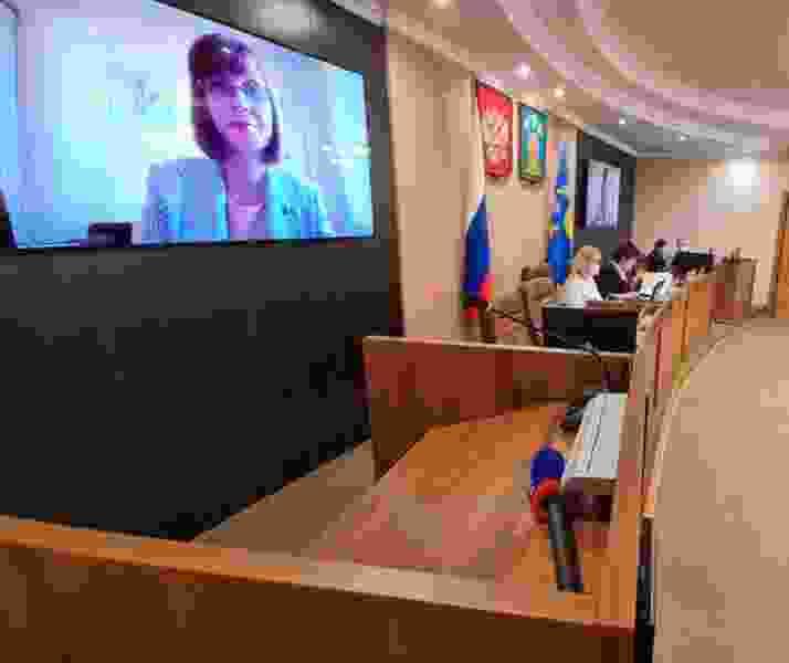 Городская дума Тамбова седьмого созыва сможет проводить заседания по видеосвязи