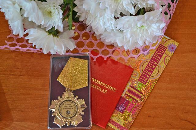Медики Расказовской ЦРБ получили медали за борьбу с коронавирусом