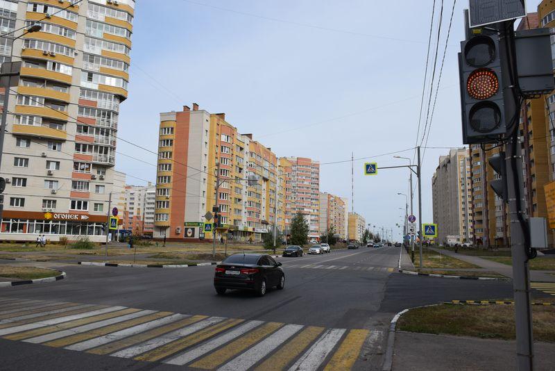 На двух перекрёстках на севере Тамбова установили новые светофоры