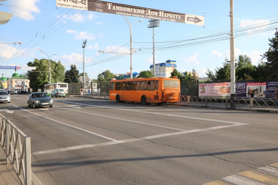 На одной из улиц Тамбова выявлено превышение содержания оксида углерода
