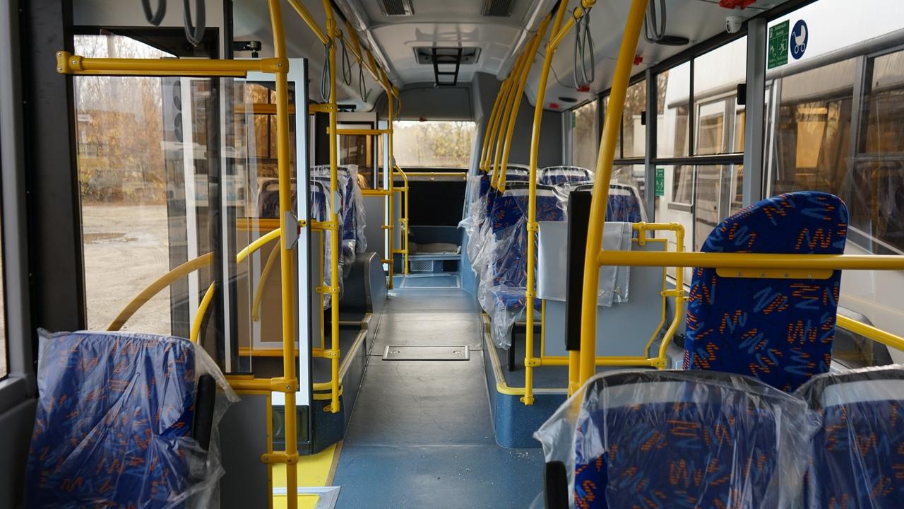 На самые напряженные городские маршруты Тамбова вышли новые автобусы