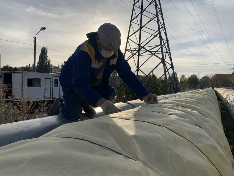 На севере Тамбова вандалы сожгли теплоизоляцию: ремонтные работы пришлось выполнять повторно