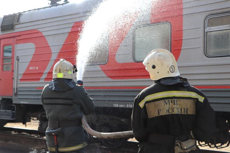 На вагоноремонтном заводе в Тамбове потушили условный пожар