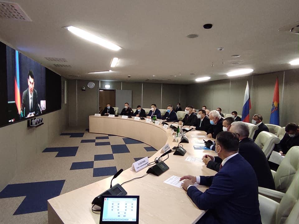 Полпред президента представил нового главного федерального инспектора по Тамбовской области