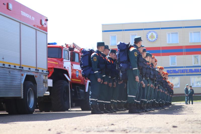 После ввода режима ЧС в Воронежской области тушить пожары туда поедут тамбовские спасатели