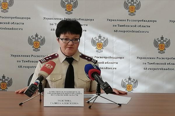 Стала известна причина роста числа заболевших коронавирусом в Тамбовской области
