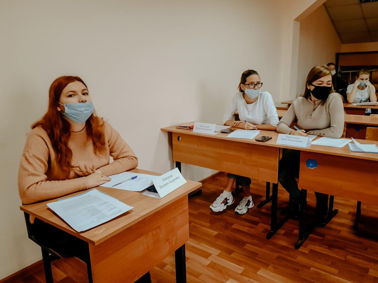 Студенты Тамбовского филиала РАНХиГС приняли участие в деловой игре