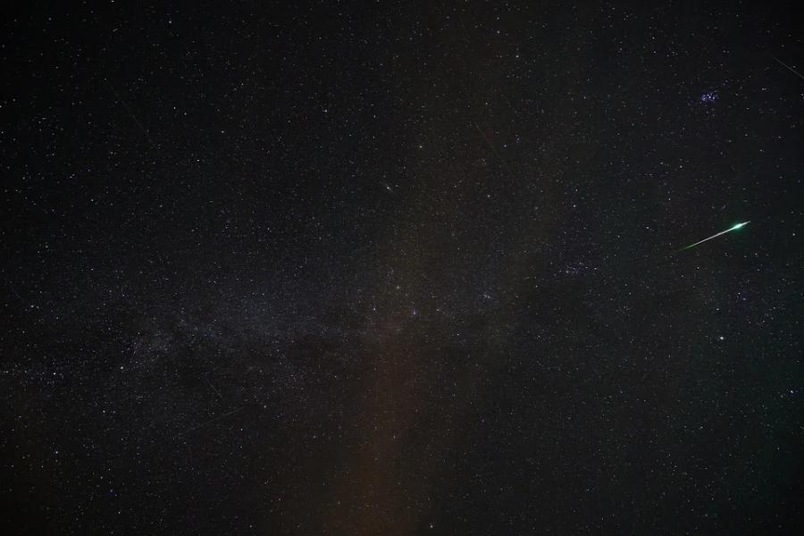 Тамбовчане смогут наблюдать метеорный поток Дракониды