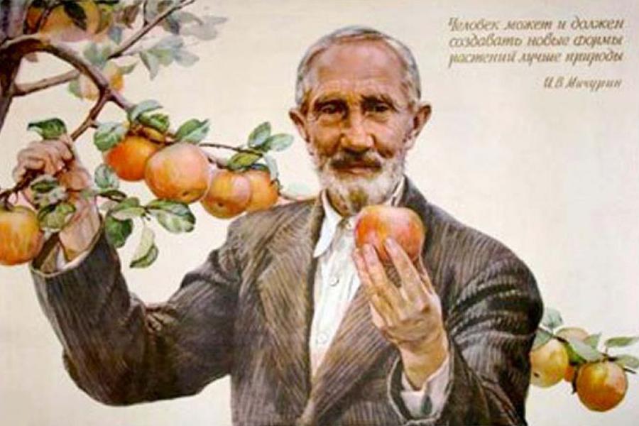 Тамбовская область отмечает день рождения Ивана Мичурина