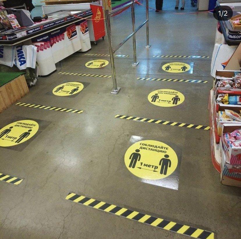 Тамбовские магазины проверяют на соблюдение мер профилактики в связи с коронавирусом