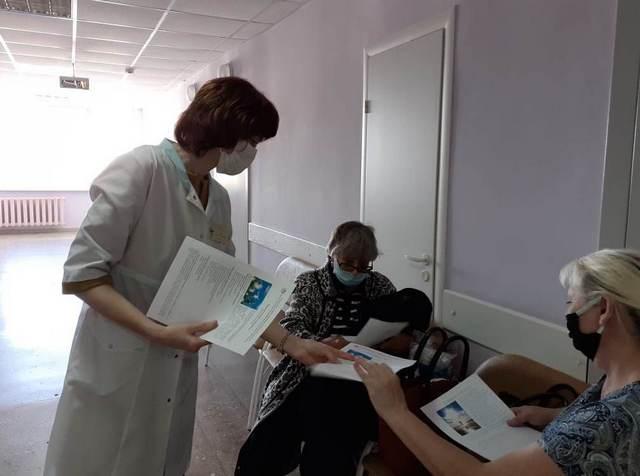 Тамбовские медики провели акции в рамках Всемирного дня психического здоровья