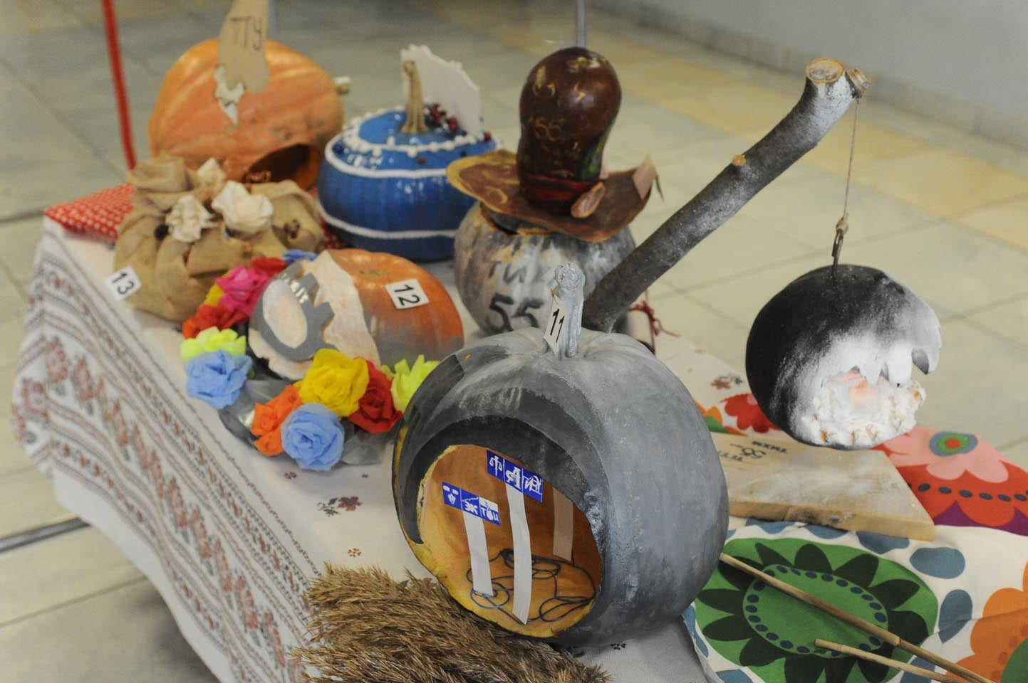 Тамбовские студенты устроили выставку тыкв