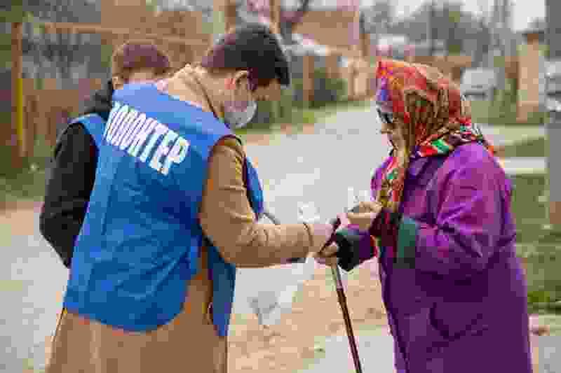 Тамбовские волонтёры возобновляют помощь пожилым людям