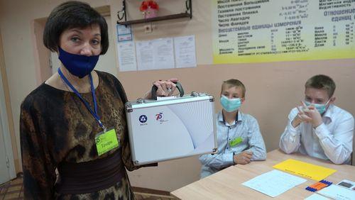 Участие МАОУ «Средняя общеобразовательная школа № 4» во всероссийском «Атомном уроке»