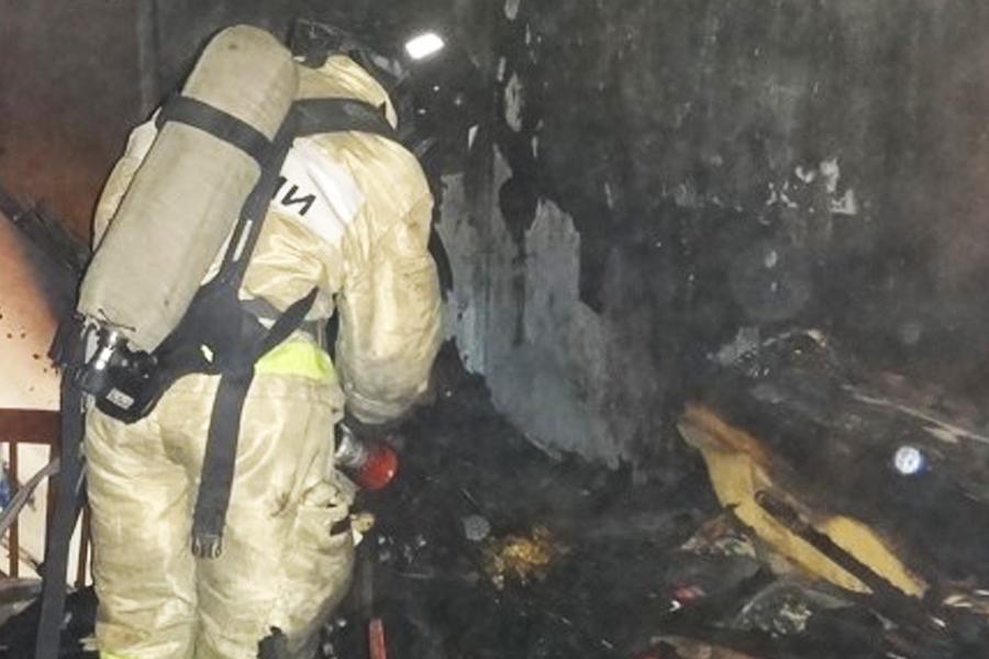 В Котовске четыре человека пострадали при ночном пожаре