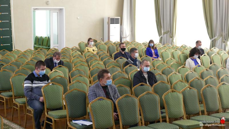 В Котовске депутаты рассмотрели вопросы городского бюджета