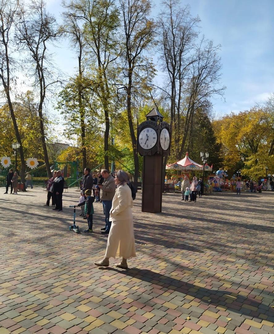 В парке культуры Тамбова отпраздновали Покров Пресвятой Богородицы