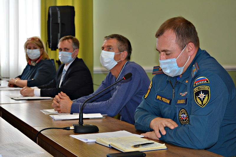 В Рассказовском районе обсудили ситуацию с пожарами
