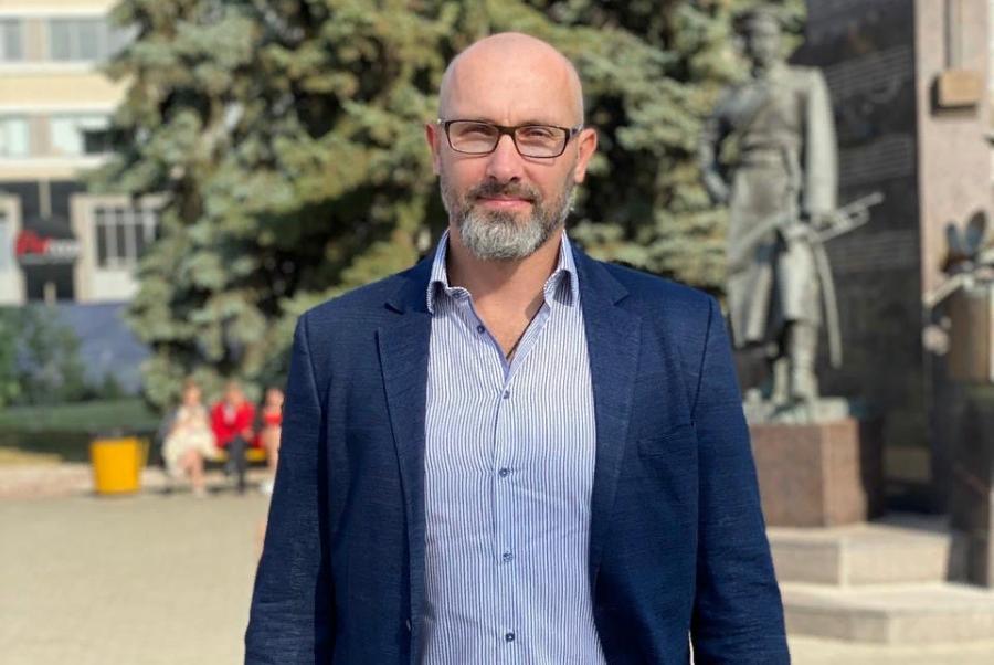 В Тамбов приехал легендарный российский волейболист Сергей Тетюхин