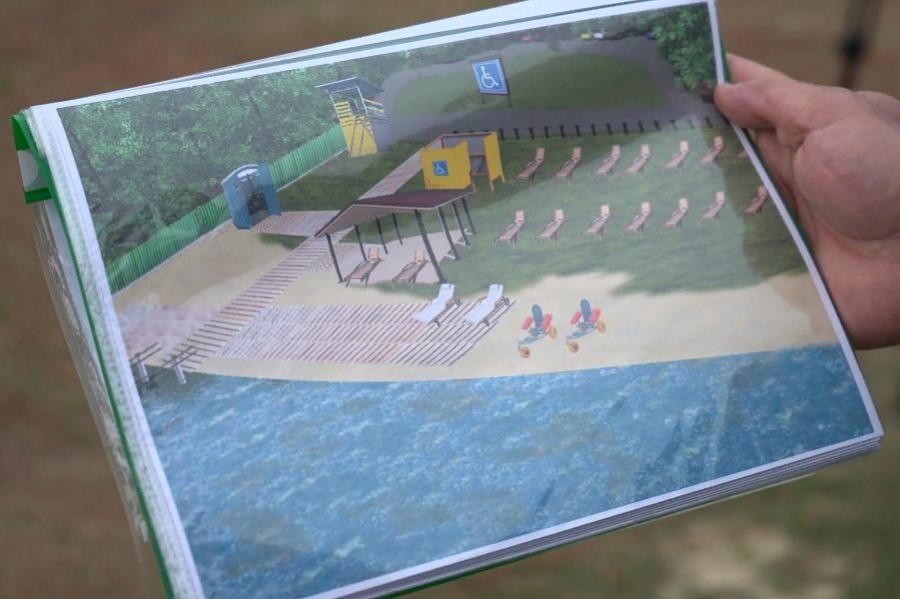 В Тамбове планируют создать пляж для людей с ограниченными возможностями