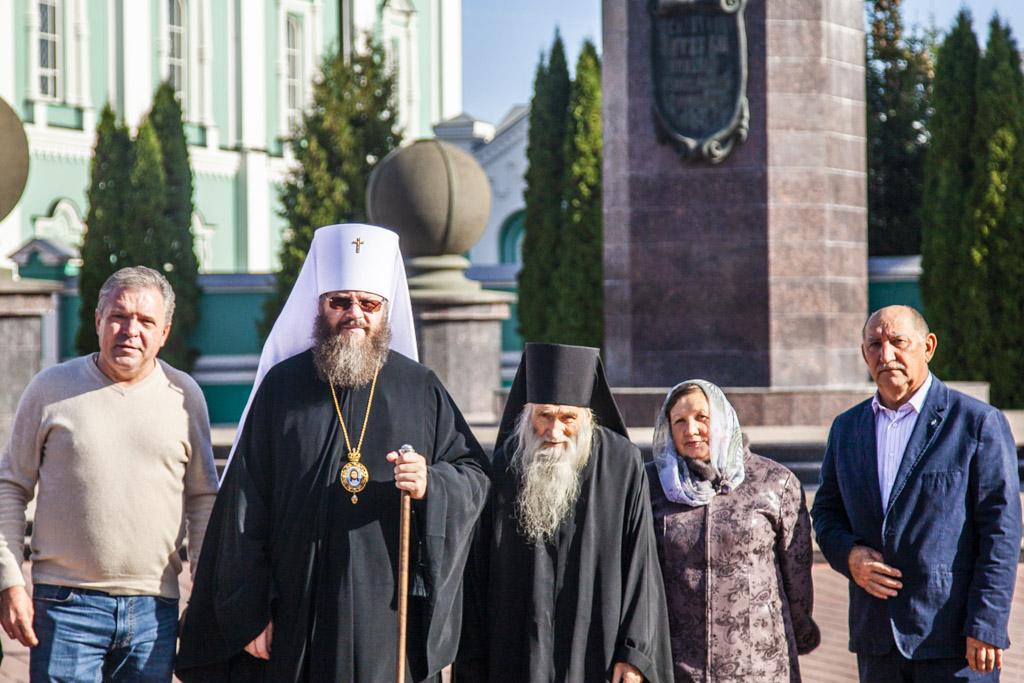 В Тамбове с паломнической поездкой побывал духовник патриарха Московского и Всея Руси