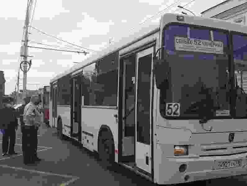 В Тамбове снова начали проверять, носят ли пассажиры автобусов гигиенические маски