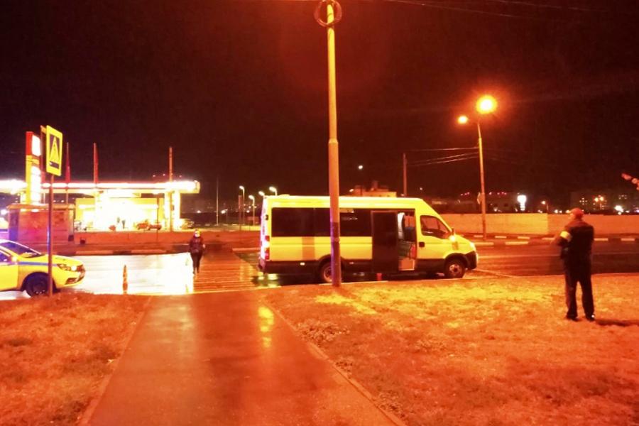 В Тамбове водитель микроавтобуса сбил пешехода