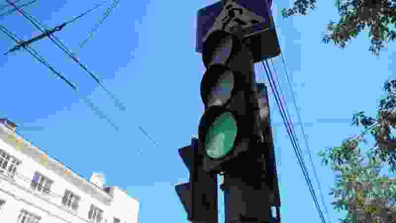 В Тамбове заработали ещё три светофора