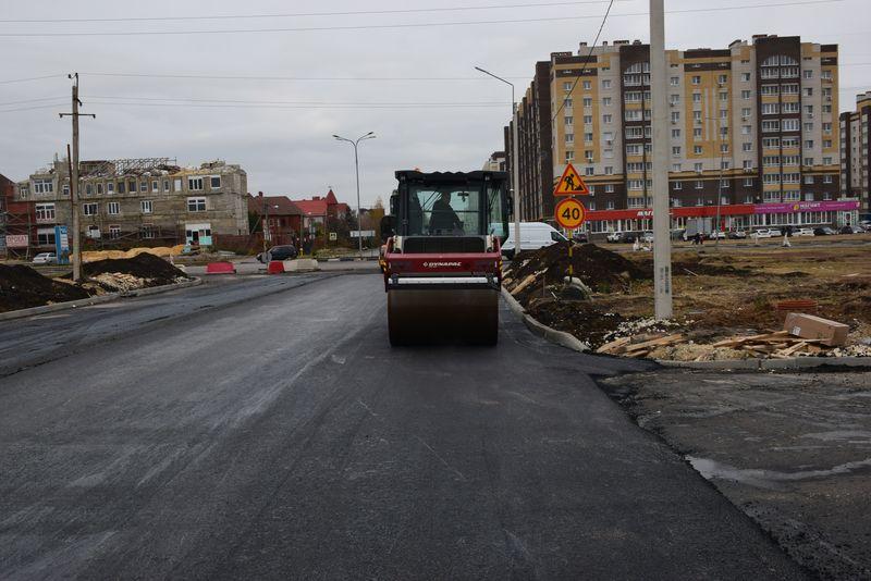 В Тамбове завершается ремонт улицы Васильковой