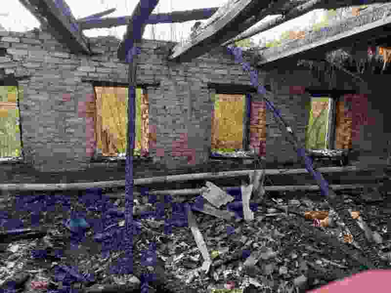 В Тамбовской области из-за пожара в жилом доме погибли двое мужчин