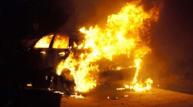 В Тамбовской области пьяный мужчина сгорел заживо в своём автомобиле