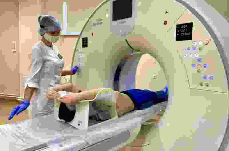 В Тамбовской областной детской больнице появился премиальный компьютерный томограф