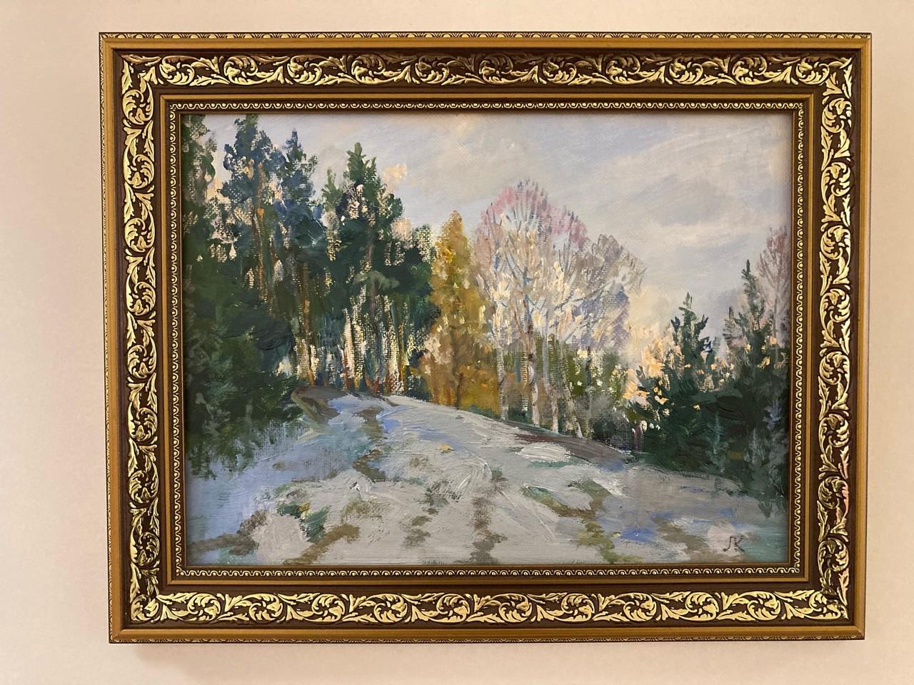 В Тамбовском филиале РАНХиГС открылась юбилейная выставка Людмилы Кудрявцевой