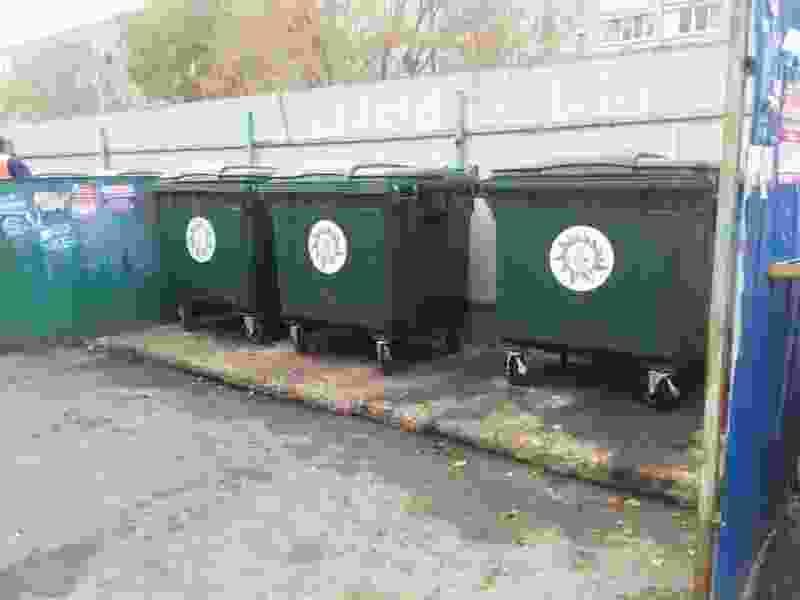 В Тамбовском районе установили 70 новых мусорных контейнеров
