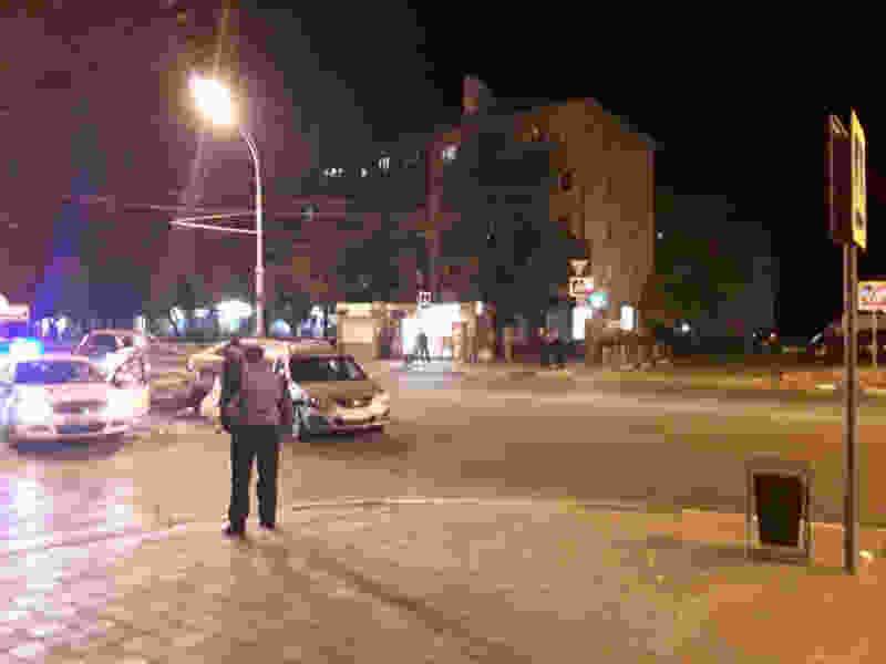 В центре Тамбова за выходные произошло два ДТП с участием молодых водителей