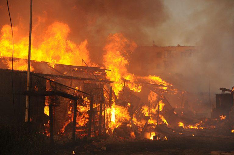 В центре Тамбова заживо сгорел мужчина