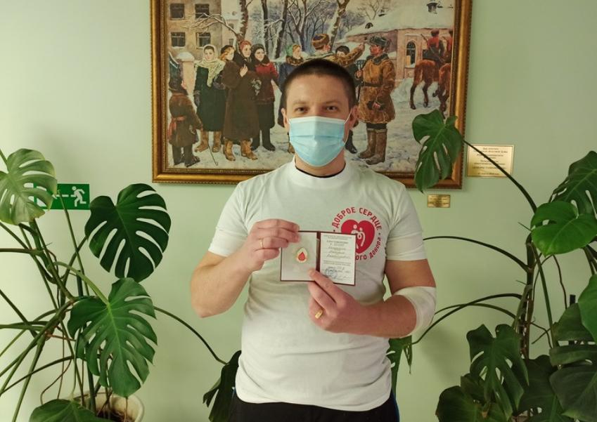 Восемнадцать тамбовчан пополнили ряды Почётных доноров России