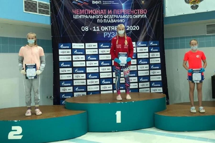 Юная тамбовчанка впервые в истории региона выполнила норматив мастера спорта по плаванию