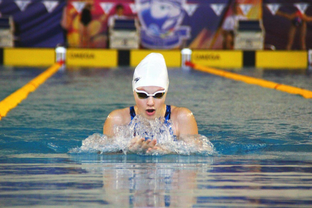 Юная тамбовчанка впервые в истории региона выполнила норматив мастера спорта России по плаванию