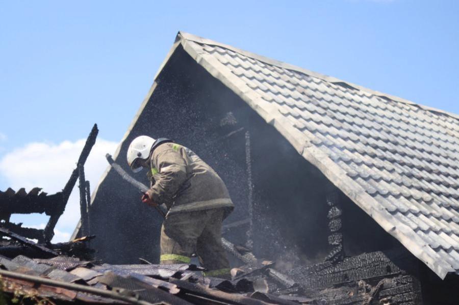 За неделю при пожарах в Тамбовской области погибли четыре человека