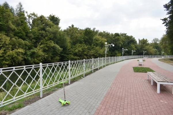 Благоустройство дворов в Тамбовской области подходит к завершению