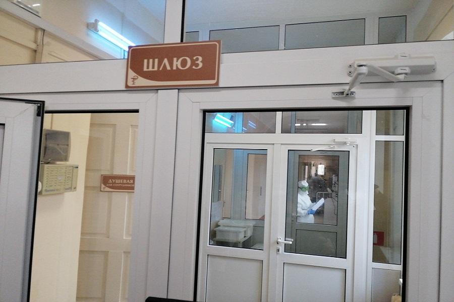 Дополнительные места для больных COVID- 19 развернули в Моршанской ЦРБ