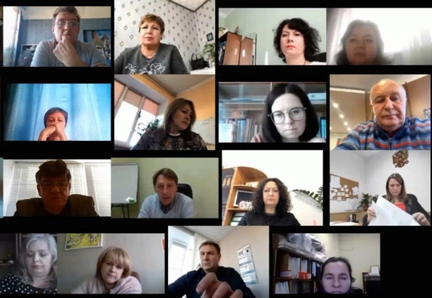 Глава Котовска провел онлайн-совещание по вопросам работы в условиях коронавируса