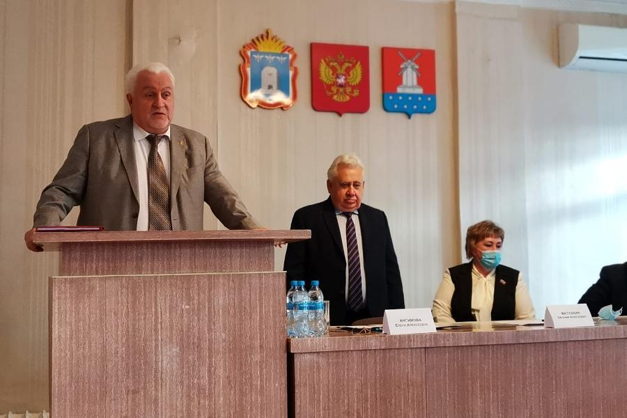 Избран глава Мучкапского района