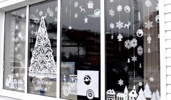Мичуринская администрация объявила конкурс на лучшую новогоднюю витрину