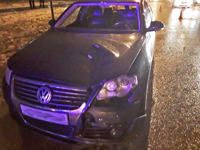 На севере Тамбова автомобиль сбил пешехода